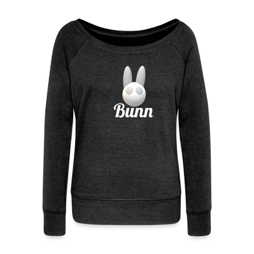 White Bunn - Women's Boat Neck Long Sleeve Top