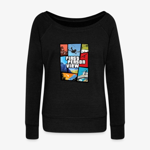 Ultimate Video Game - Women's Boat Neck Long Sleeve Top