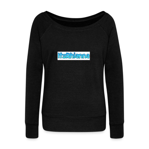 Merch - Women's Boat Neck Long Sleeve Top