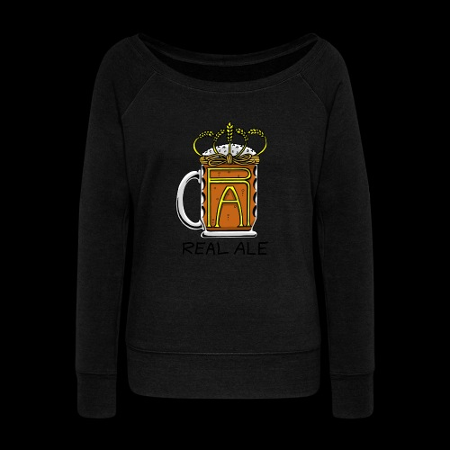 Real Ale - Women's Boat Neck Long Sleeve Top