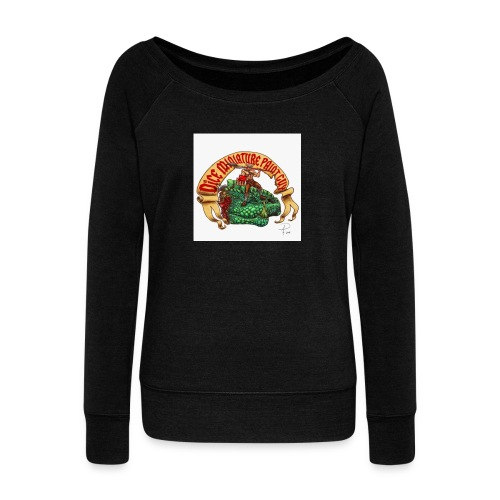 DiceMiniaturePaintGuy - Women's Boat Neck Long Sleeve Top