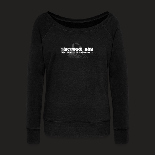KNOW YOUR LIMITS - Women's Boat Neck Long Sleeve Top