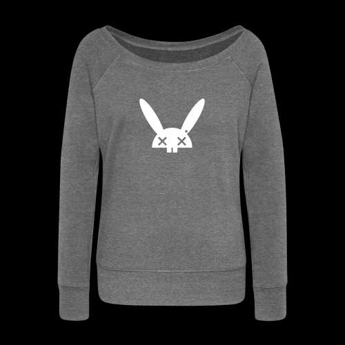 HARE5 LOGO TEE - Women's Boat Neck Long Sleeve Top
