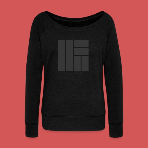 NÖRCup Black Iconic Edition - Women's Boat Neck Long Sleeve Top