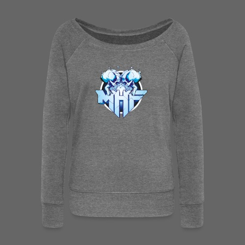 MHF New Logo - Women's Boat Neck Long Sleeve Top