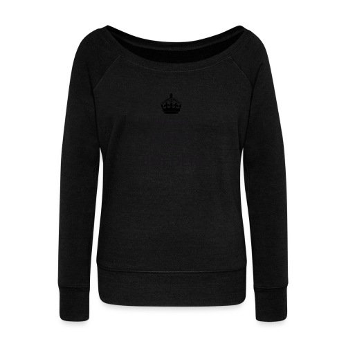 Himedere keep calm - Women's Boat Neck Long Sleeve Top