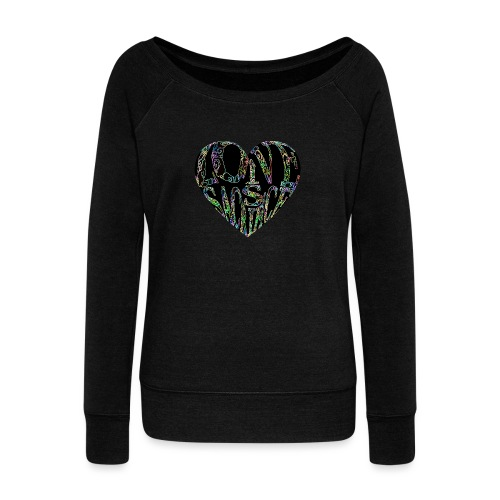 Love Is Sacrifice - Women's Boat Neck Long Sleeve Top