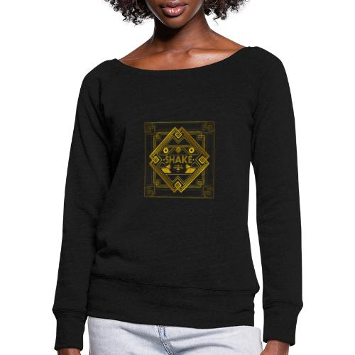AlbumCover 2 - Women's Boat Neck Long Sleeve Top