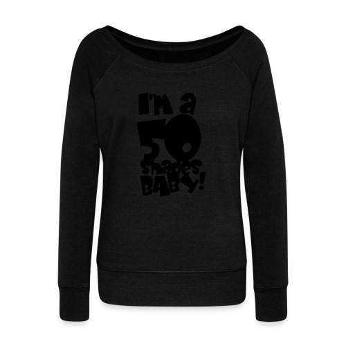 50 shades - Women's Boat Neck Long Sleeve Top