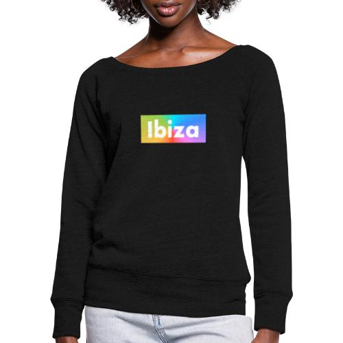 IBIZA Color - Women's Boat Neck Long Sleeve Top