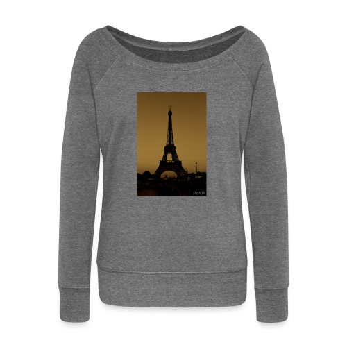 Paris - Women's Boat Neck Long Sleeve Top