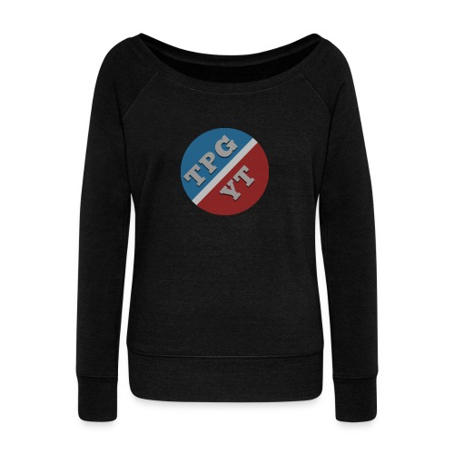 The Official TPG Cap - Women's Boat Neck Long Sleeve Top