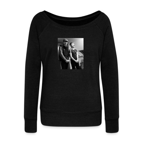 El Patron y Don Jay - Women's Boat Neck Long Sleeve Top