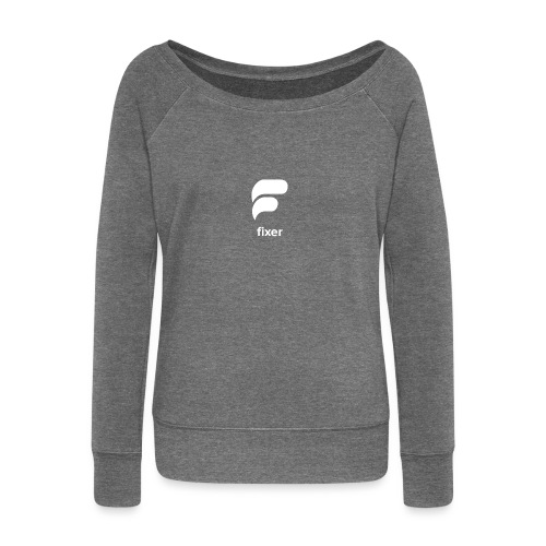 Fixer - Super Fan - Women's Boat Neck Long Sleeve Top