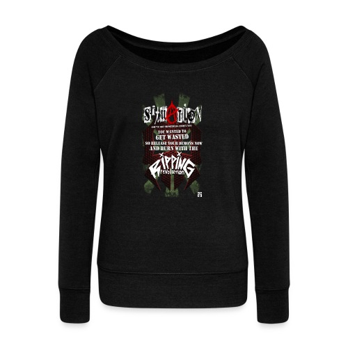 SITUATION - Women's Boat Neck Long Sleeve Top