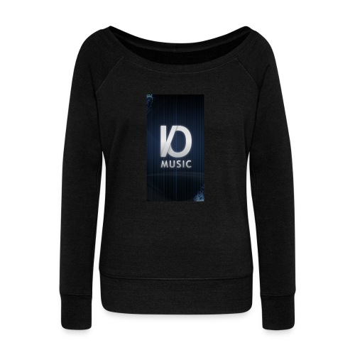 iphone6plus iomusic jpg - Women's Boat Neck Long Sleeve Top