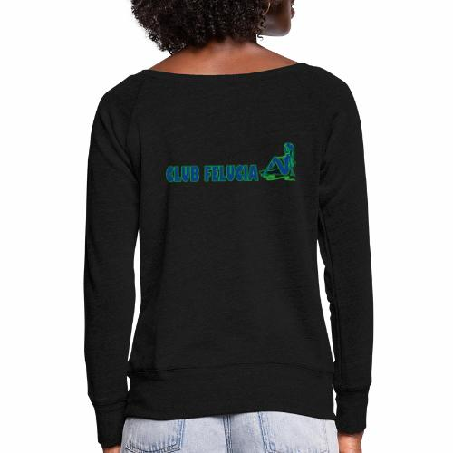 Madame's_Girls - Women's Boat Neck Long Sleeve Top