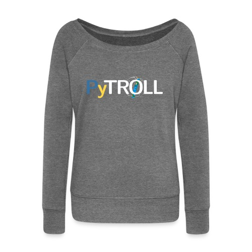 pytröll - Women's Boat Neck Long Sleeve Top