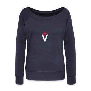 Vega Small Logo - Women's Boat Neck Long Sleeve Top