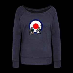Mods - Women's Boat Neck Long Sleeve Top