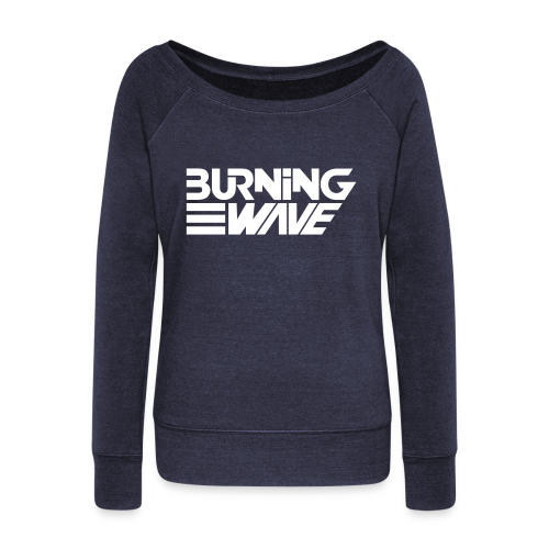 Burning Wave Block - Pull Femme col bateau de Bella