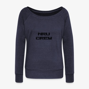 NRU Crew - Women's Boat Neck Long Sleeve Top