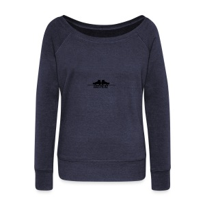 design_boothead - Women's Boat Neck Long Sleeve Top