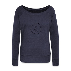 By Hand FC OM - Women's Boat Neck Long Sleeve Top
