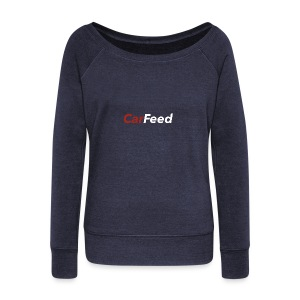 CarFeed - Women's Boat Neck Long Sleeve Top
