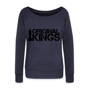 Original Kings - Women's Boat Neck Long Sleeve Top