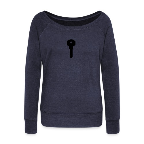 Narct - Key To Success - Women's Boat Neck Long Sleeve Top
