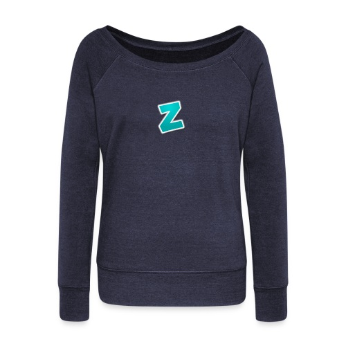 Z3RVO Logo! - Women's Boat Neck Long Sleeve Top