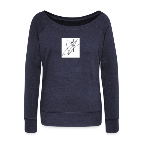 Tshirt - Women's Boat Neck Long Sleeve Top