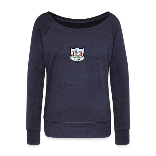 Cork - Eire Apparel - Women's Boat Neck Long Sleeve Top