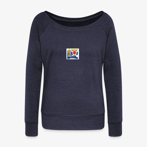 MFCSC Champions Artwork - Women's Boat Neck Long Sleeve Top