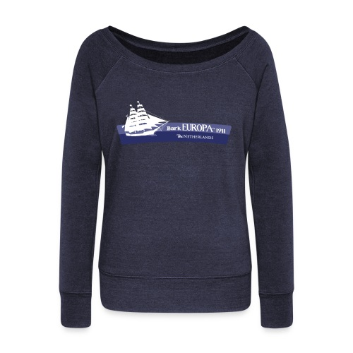 Bark Europa - Women's Boat Neck Long Sleeve Top