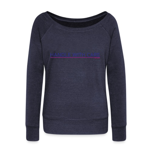To handle with care - Pull Femme col bateau de Bella