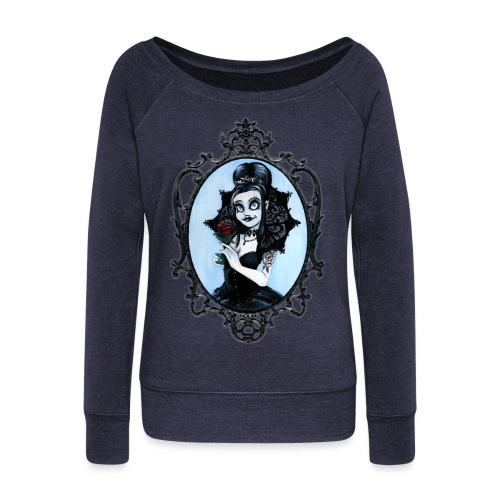 Model of the Year 2020 Lilith LaVey - Women's Boat Neck Long Sleeve Top