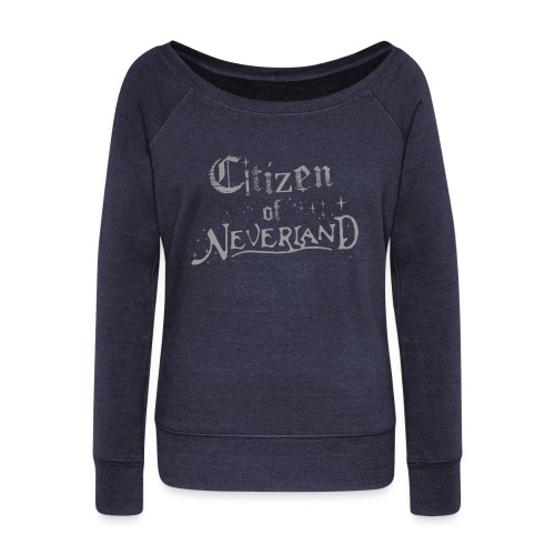 Citizen of Neverland - Women's Boat Neck Long Sleeve Top