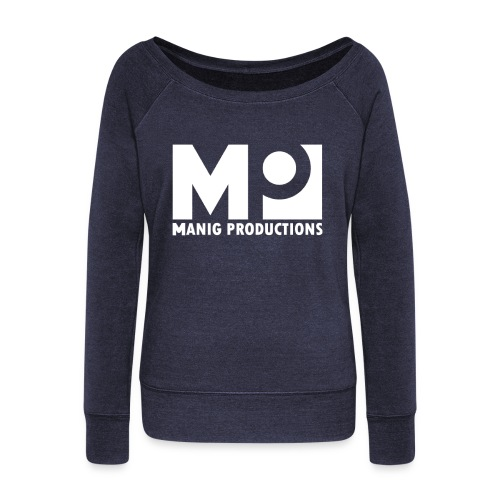 ManigProductions White Transparent png - Women's Boat Neck Long Sleeve Top