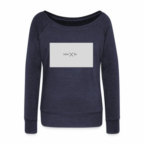 john tv - Women's Boat Neck Long Sleeve Top