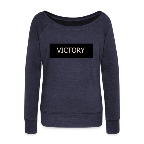 VICTORY - Women's Boat Neck Long Sleeve Top