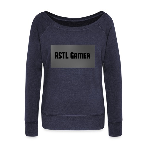 RSTL Gamer Limted time merch - Women's Boat Neck Long Sleeve Top