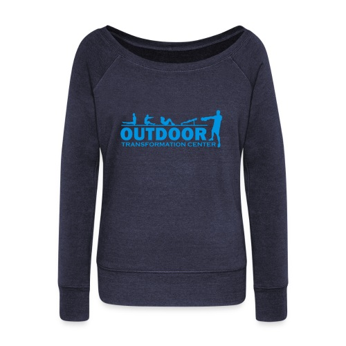 OTC Large Logo - Women's Boat Neck Long Sleeve Top
