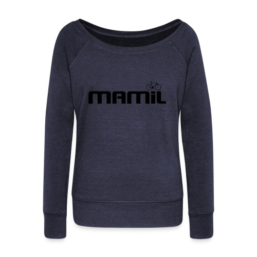 mamil1 - Women's Boat Neck Long Sleeve Top