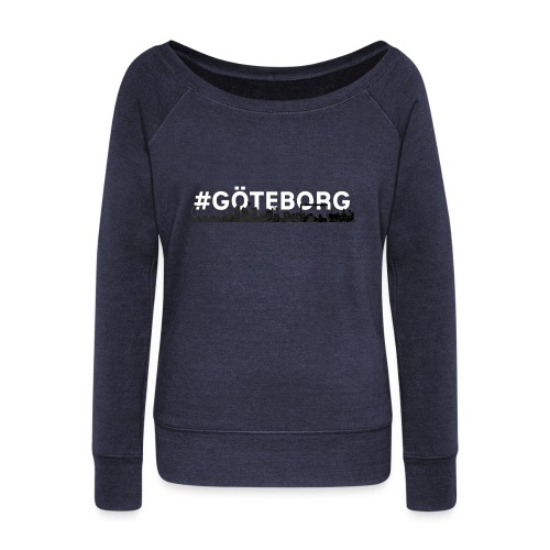 Göteborg - Women's Boat Neck Long Sleeve Top