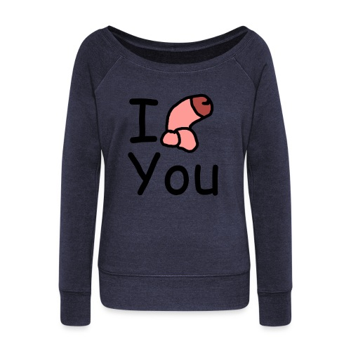 I dong you pin - Women's Boat Neck Long Sleeve Top