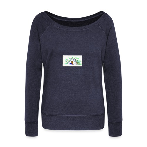 Project Drawing 1 197875703 - Women's Boat Neck Long Sleeve Top