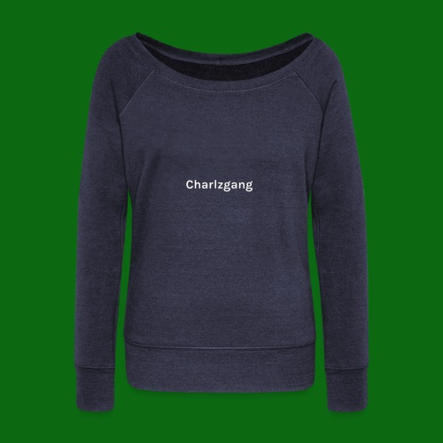 Charlzgang - Women's Boat Neck Long Sleeve Top