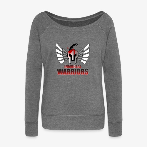 The Inmortal Warriors Team - Women's Boat Neck Long Sleeve Top